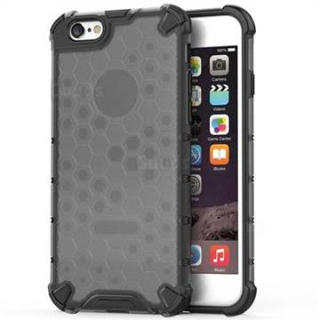 Honeycomb TPU + PC Hybrid Armor Shockproof Case Cover for iPhone 6s 6 6G(4.7 inch) - Gray