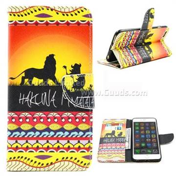 Prairie Lion Leather Wallet Case for iPhone 6 (4.7 inch)