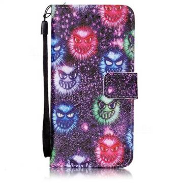 Halloween Monster Leather Wallet Case for iPhone 6s 6 (4.7 inch)