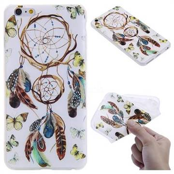 Color Wind Chimes 3D Relief Matte Soft TPU Back Cover for iPhone 6s Plus / 6 Plus 6P(5.5 inch)