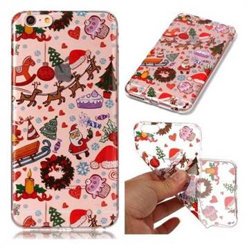 Christmas Playground Super Clear Soft TPU Back Cover for iPhone 6s Plus / 6 Plus 6P(5.5 inch)