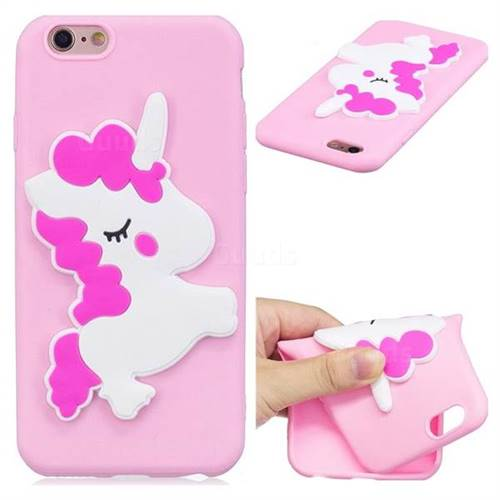 Pony Soft 3D Silicone Case for iPhone 6s Plus / 6 Plus 6P(5.5 inch)