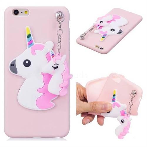 Unicorn Pendant Soft 3D Silicone Case for iPhone 6s Plus   6 Plus 6P ... 40f8229d8