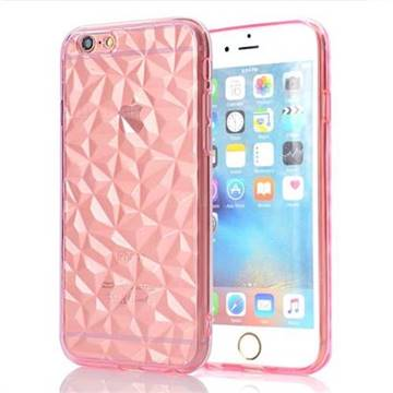 Diamond Pattern Shining Soft TPU Phone Back Cover for iPhone 6s Plus / 6 Plus 6P(5.5 inch) - Pink