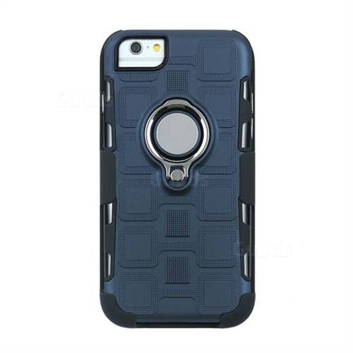 best sneakers 5efac 3112c 3 in 1 PC + Silicone Leather Phone Case for iPhone 6s Plus / 6 Plus 6P(5.5  inch) - Royal Blue