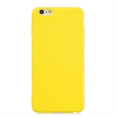 iphone 6 case silicone yellow
