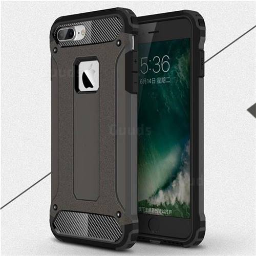 King Kong Armor Premium Shockproof Dual Layer Rugged Hard Cover for iPhone 6s Plus / 6 Plus 6P(5.5 inch) - Bronze