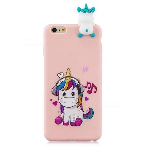 iphone 6S Pink Unicorn Case Softcase