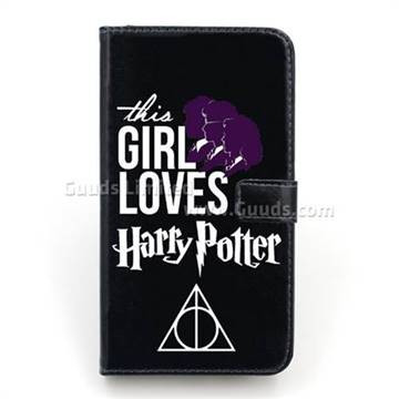 huge discount 6e2f6 3de82 Harry Potter Girl Leather Wallet Case for iPhone 6 Plus (5.5 inch)