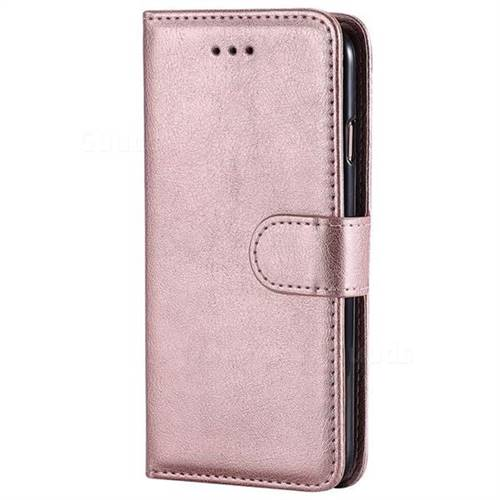 Retro Greek Detachable Magnetic Pu Leather Wallet Phone Case For Iphone 6s Plus 6 Plus 6p 5 5 Inch Rose Gold