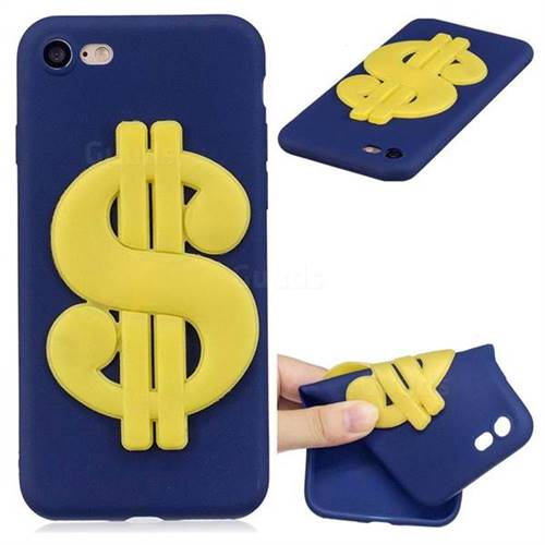 US Dollars Soft 3D Silicone Case for iPhone 8 / 7 (4.7 inch)