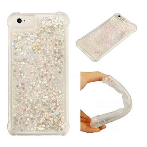 Dynamic Liquid Glitter Sand Quicksand Star TPU Case for iPhone 8 / 7 (4.7 inch) - Pink