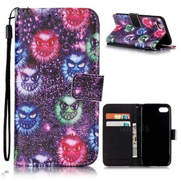 halloween monster leather wallet case for iphone 8 7 8g 7g 47 inch
