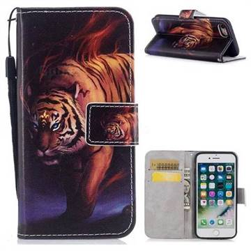 Mighty Tiger PU Leather Wallet Case for iPhone 8 / 7 (4.7 inch)