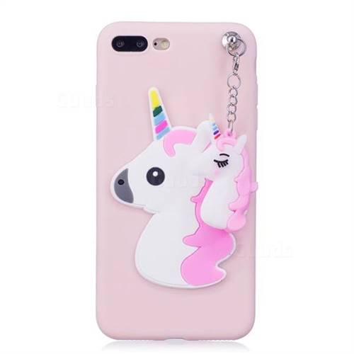 3D Unicorn Silicone TPU Covers iPhone 7