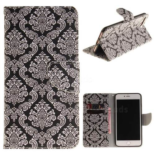 Totem Flowers PU Leather Wallet Case for iPhone 8 Plus / 7 Plus 8P 7P(5.5 inch)