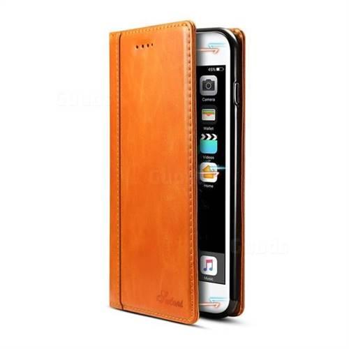 official photos 2dffc 1b12d Suteni Luxury Classic Genuine Leather Phone Case for iPhone 8 Plus / 7 Plus  7P(5.5 inch) - Khaki