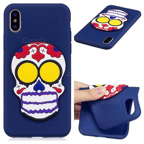 Ghosts Soft 3D Silicone Case for iPhone XS / X / 10 (5.8 inch)