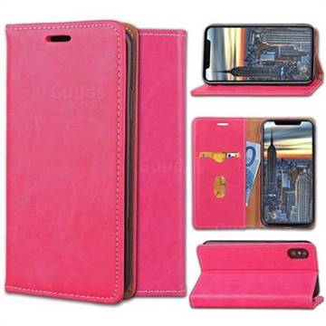 Multi Function Phone Magnetically Holster Case for iPhone X - Rose
