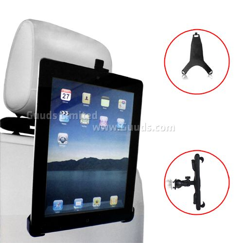 Car Seat Backrest Mount Holder for iPad / iPad 2 / the New iPad / iPad 4