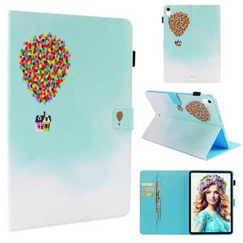 Hot Air Balloon Folio Stand Leather Wallet Case for Apple iPad Pro 11