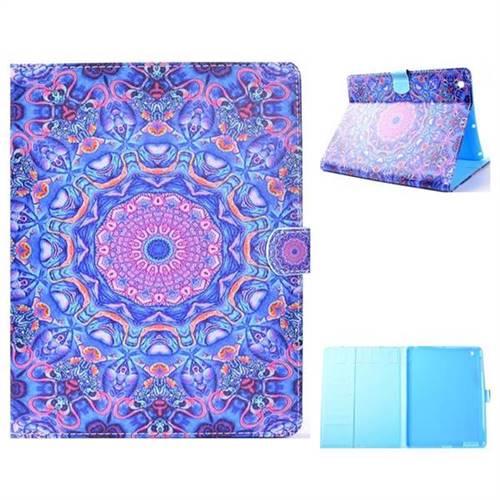 Purple Folio Flip Stand Leather Wallet Case for iPad 4 the New iPad iPad2 iPad3