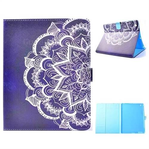 Half Lace Folio Flip Stand Leather Wallet Case for iPad 4 the New iPad iPad2 iPad3