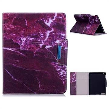 Red Marble Folio Flip Stand Leather Wallet Case for iPad 4 the New iPad iPad2 iPad3