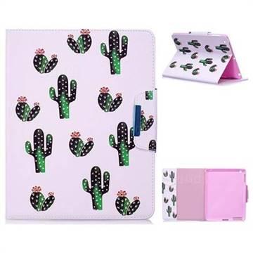 Cactus Folio Flip Stand Leather Wallet Case for iPad 4 the New iPad iPad2 iPad3