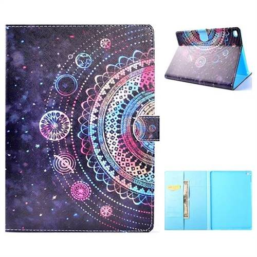 Universe Folio Flip Stand Leather Wallet Case for iPad Air iPad5