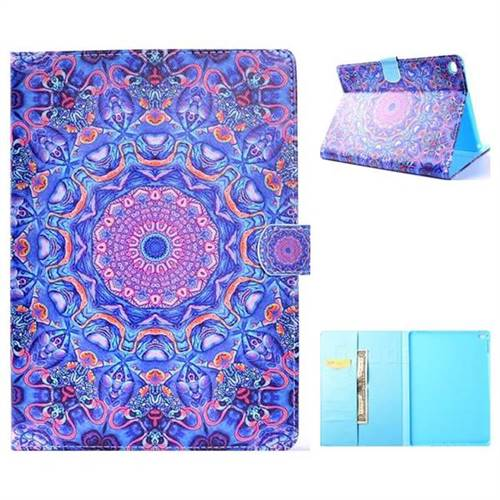 Purple Folio Flip Stand Leather Wallet Case for iPad Air iPad5