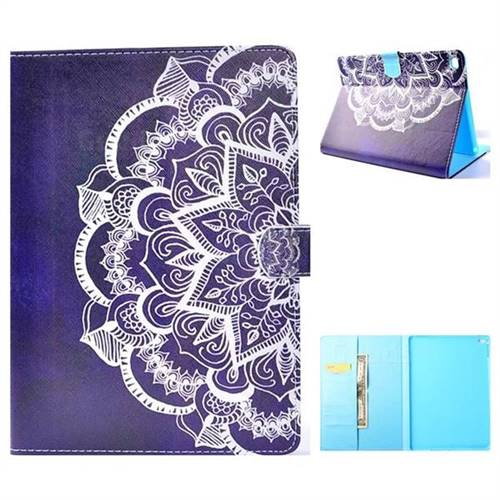 Half Lace Folio Flip Stand Leather Wallet Case for iPad Air iPad5