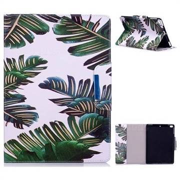 Green Leaves Folio Flip Stand Leather Wallet Case for iPad Air 2 iPad6