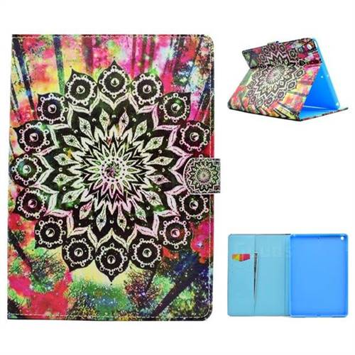 Colorful Folio Flip Stand Leather Wallet Case for iPad 9.7 2017 9.7 inch