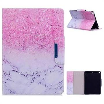 Sand Marble Folio Flip Stand Leather Wallet Case for iPad 9.7 2017 9.7 inch