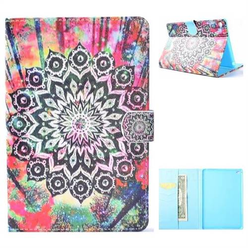 Colorful Folio Flip Stand Leather Wallet Case for iPad Mini 4
