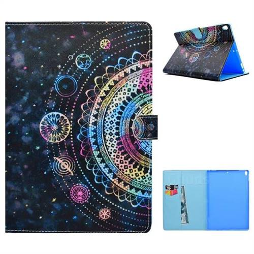 Universe Folio Flip Stand Leather Wallet Case for iPad Pro 10.5