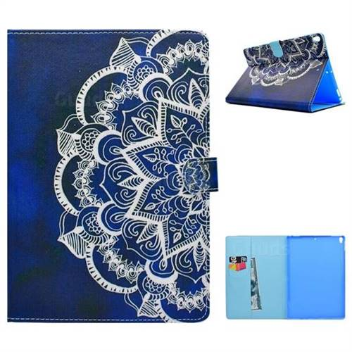 Half Lace Folio Flip Stand Leather Wallet Case for iPad Pro 10.5