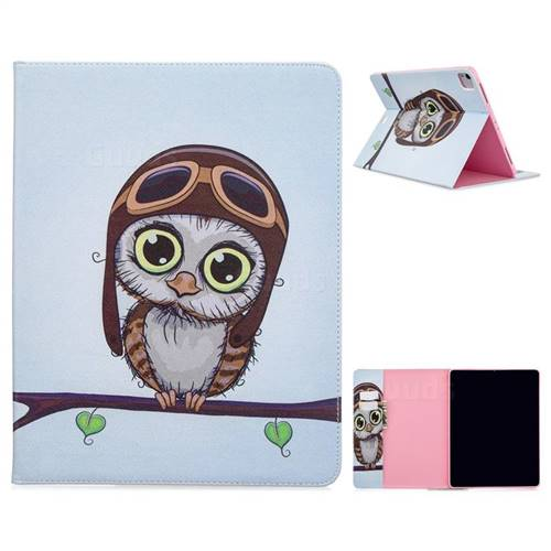 Owl Pilots Folio Stand Leather Wallet Case For Apple Ipad Pro 12 9 2020 Ipad Pro 12 9 2020 Cases Guuds