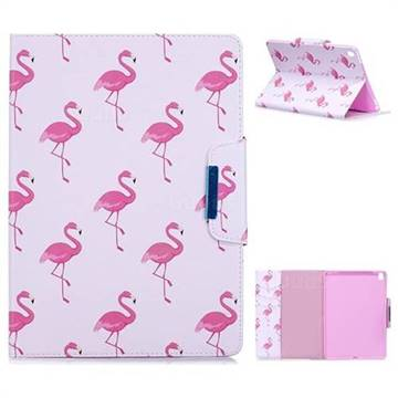 Red Flamingo Folio Flip Stand Leather Wallet Case for iPad Pro 9.7 2016 9.7 inch