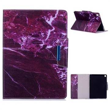 Red Marble Folio Flip Stand Leather Wallet Case for iPad Pro 9.7 2016 9.7 inch