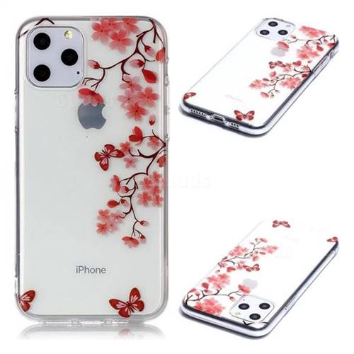 Plum Blossom Super Clear Soft TPU Back Cover for iPhone 11 Pro (5.8 inch)