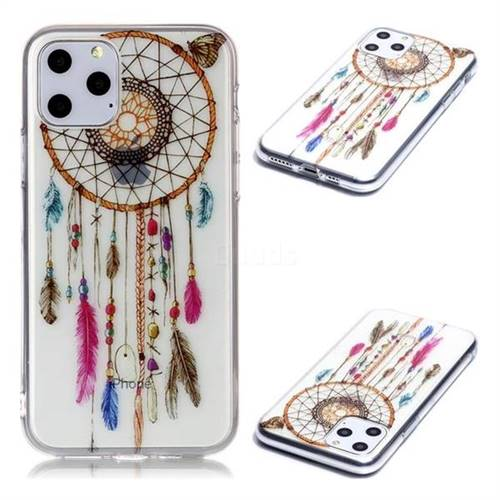 Wind Chimes Butterfly Super Clear Soft TPU Back Cover for iPhone 11 Pro (5.8 inch)