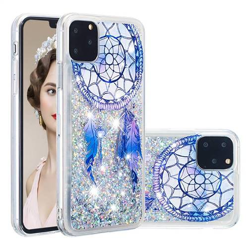 Fantasy Wind Chimes Dynamic Liquid Glitter Quicksand Soft TPU Case for iPhone 11 Pro (5.8 inch)