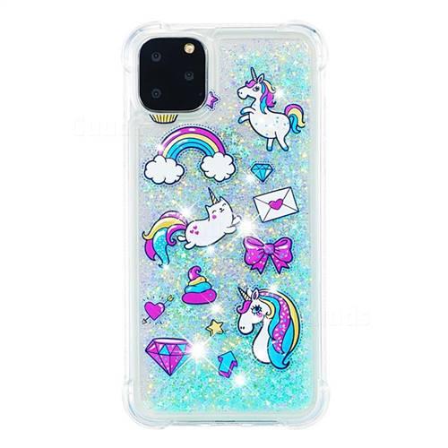 iPhone Case: Liquid Glitter Unicorn