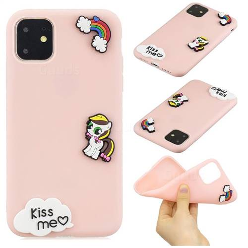 Kiss me Pony Soft 3D Silicone Case for iPhone 11 Pro (5.8 inch)