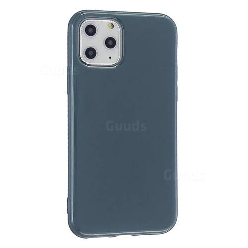 2mm Candy Soft Silicone Phone Case Cover for iPhone 11 Pro (5.8 inch) - Light Grey