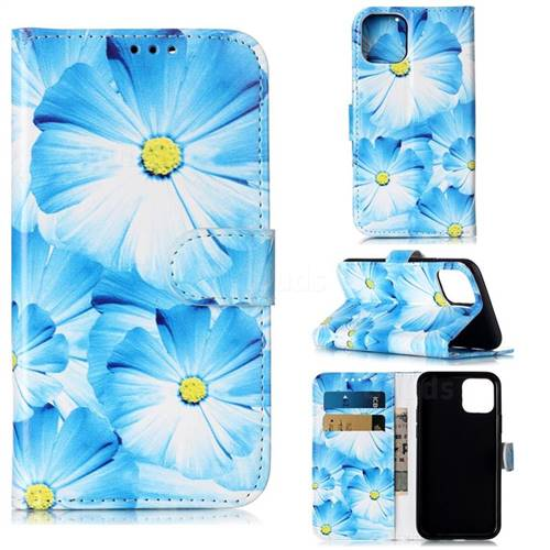 Orchid Flower PU Leather Wallet Case for iPhone 11 Pro (5.8 inch)