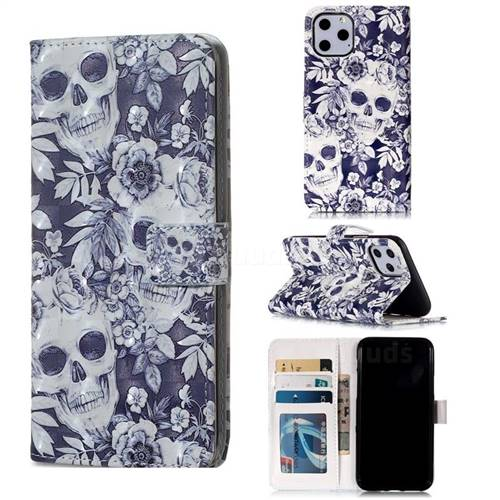 Flower Skull iphone 11 case