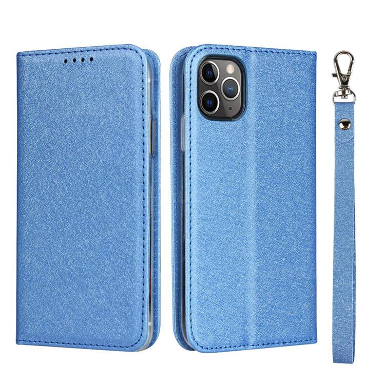 Sky Blue Wallet Case for iPhone 11 Pro PU Leather Flip Cover Compatible with iPhone 11 Pro